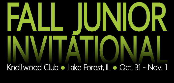 Fall Jr Invite – Round Two Pairings